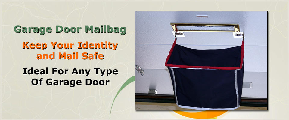 Marvelous Garage Door Mailbag   Home