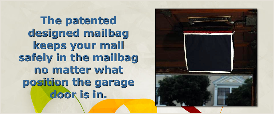 Garage Door Mailbag Home
